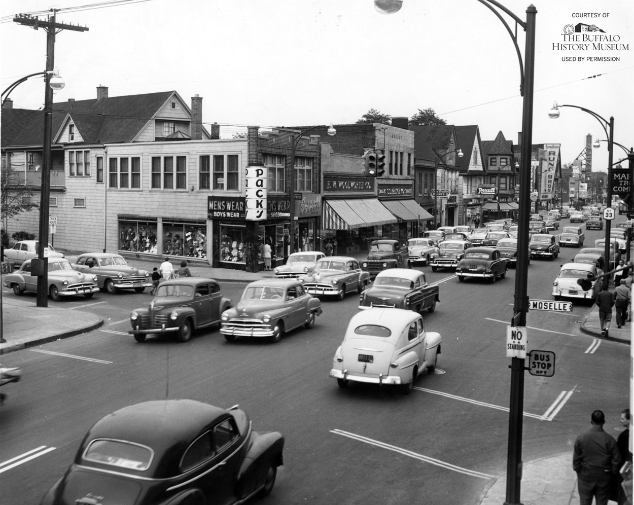 Looking backward genesee moselle 1954 the public for Craft stores buffalo ny