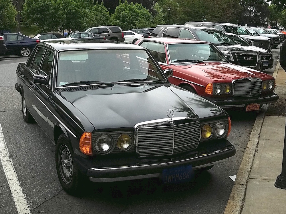 Body Buzz: Mercedes 123—The Vintage Car To Drive | The Public