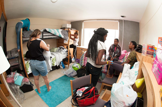 Buffalo State College Dorm Rooms