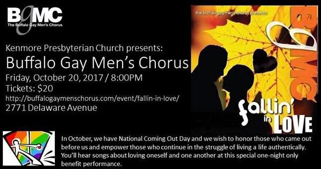 from Kristopher buffalo gay men/x27s chorus