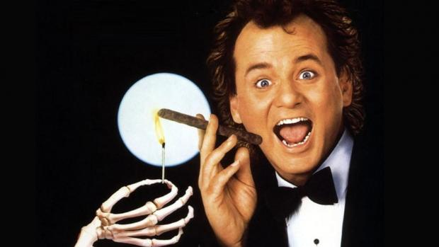 Have an '80s Christmas with Bill Murray in Scrooged at the Screening Room.