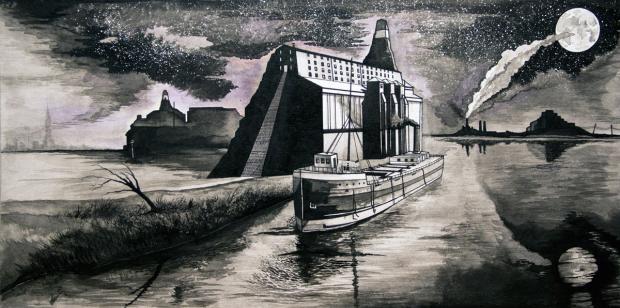 Untitled Shipyardby Evan Hawkins