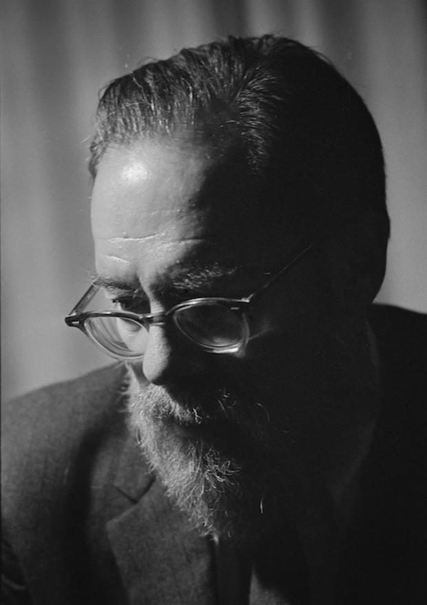 John Berryman in Buffalo, 1968. Photograph by Bruce Jackson.
