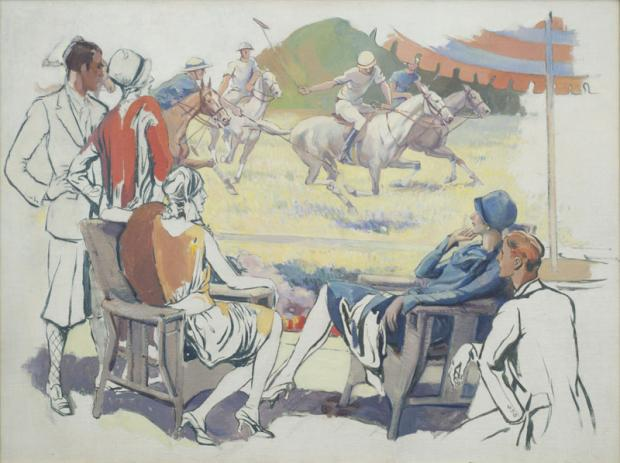 Alexander O. Levy (1881-1947),Untitled, c. 1928; oil on canvas, 30 x 40 inches, framed; Bequest of Frank Szuba, 2002