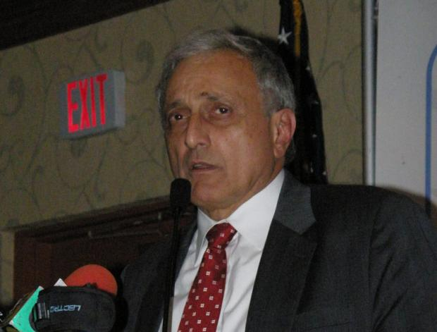 Buffalo's developer and school board member, Carl Paladino. Source: Wikimedia Commons.