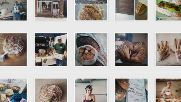 BreadHive beautifully documents their days in the bakery on Instagram.