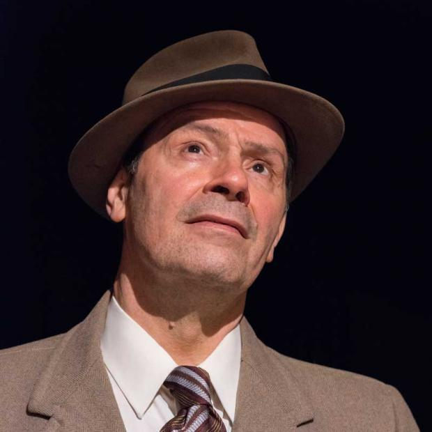 "John Fredo as Willie Loman in Irish Classical Theatre's production of ""Death of a Salesman"""