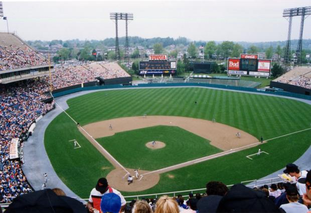 Baltimore's Memorial Stadium in 1991.