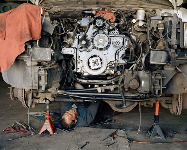 Rebuilt Engine by Justine Kurland.