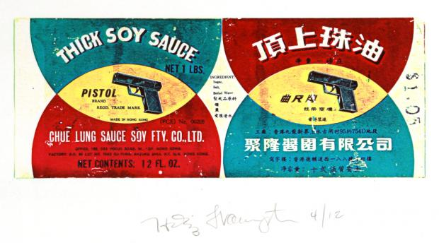 Thick Soy Sauce Brand Pistols by Hollis Frampton