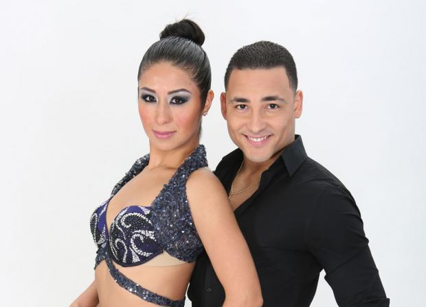 Fanny Olaya and Calvin Rice of Baila Salsa Dance Company