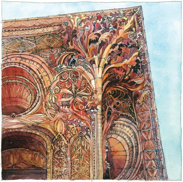 Buffalo - a work in progress: Homage to Louis Sullivan by Carol Case Siracuse