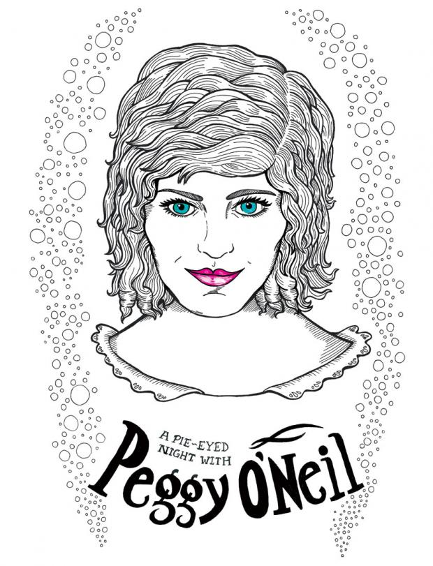A Pie-Eyed Night with Peggy O'Neil by Mickey Harmon