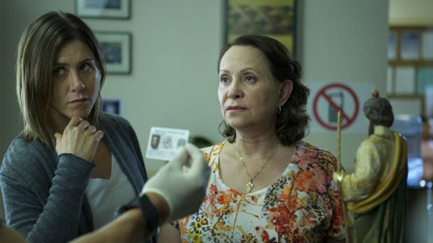 Jennifer Aniston and Adriana Barraza in Cake.
