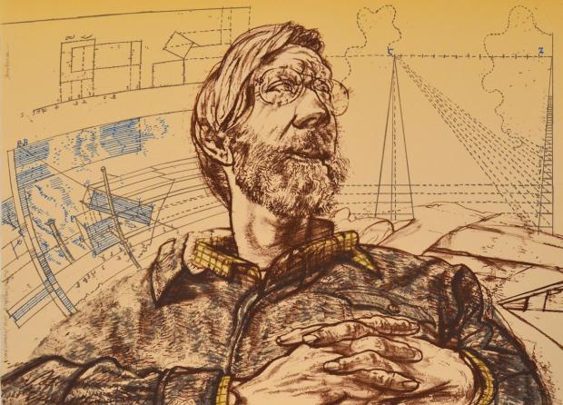 Carl Dennis (Delft Diagrams) by Harvey Breverman
