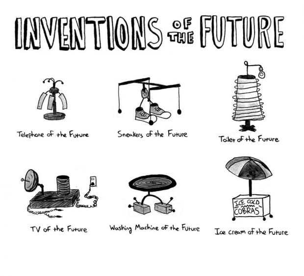 Pat Kewley: Inventions of the Future.