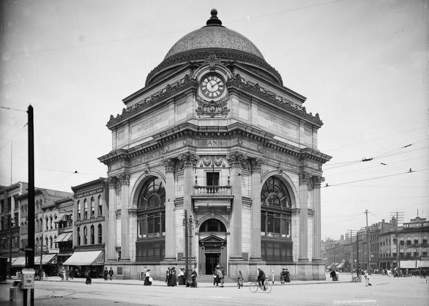 Buffalo Savings Bank 1904,Wikimedia