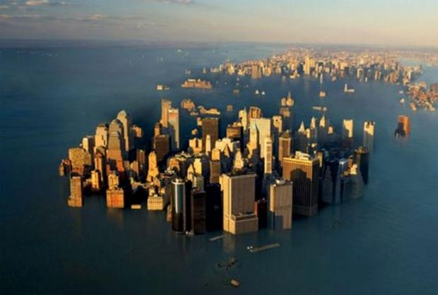 GreenWatch: New York City will go under according to new climate reports.