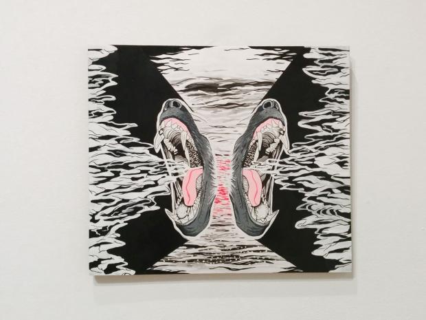 Untitled work by Denton Crawford.