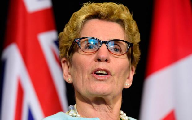 Ontario Premiere Kathleen Wynne is committing $1 billion to build an urban light-rail system in Hamimlton and connecting to Toronto.