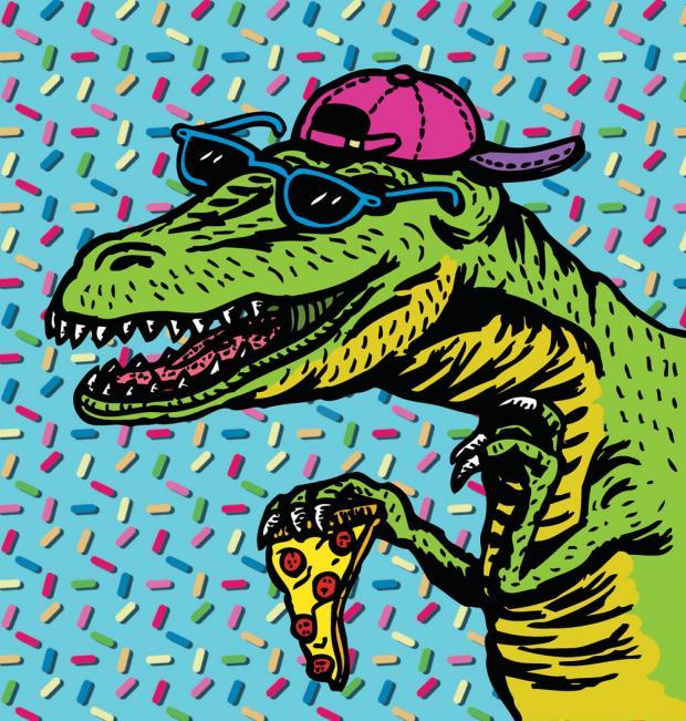 Rad-o-saurus Rex by Steve Ardo.