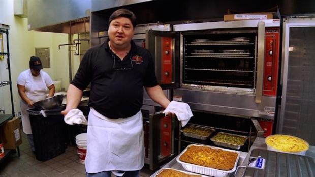"""David """"Ziggy"""" Gruber, proprietor of Ken and Ziggy's deli in Houston."""