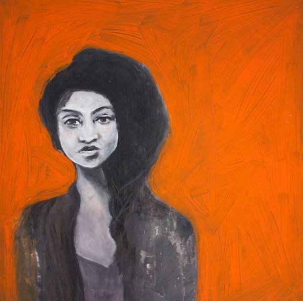 Portrait of Simone by Alixandra Martin.