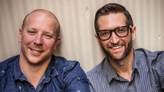 Authors Gavin Kovite and Christopher Robinson.