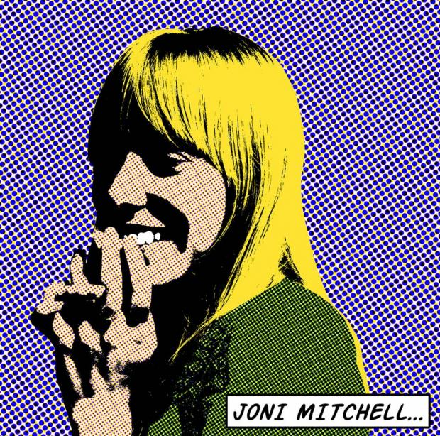 Joni Mitchell by Veronica Aguilar