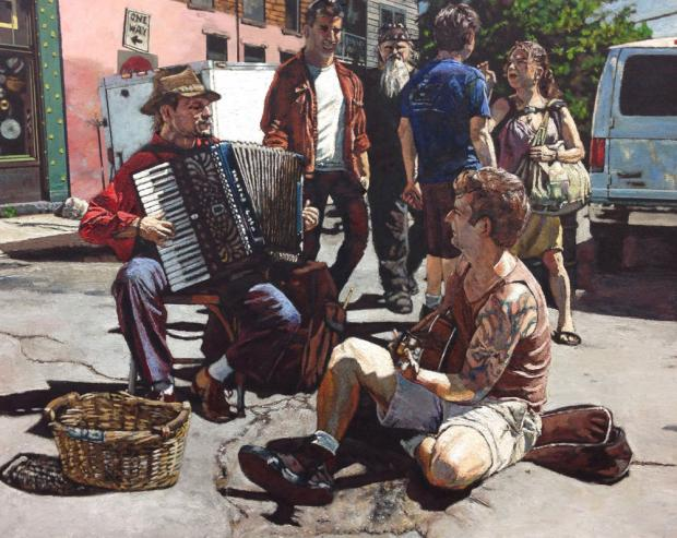 Street Duet by Gary L. Wolfe