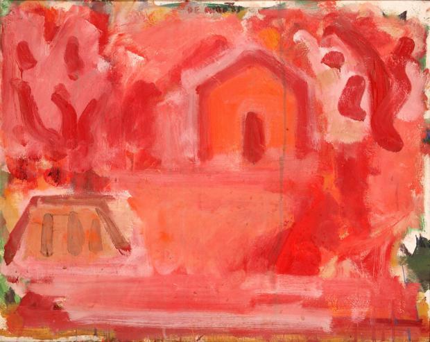 House on Ellicott Creek by Robert De Niro, Sr.