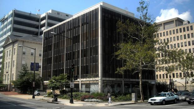The Humane Society of the United States headquarters building at 21 L Street NW in Washington, DC. This multi-million dollar building full of lobbyists and public relations staff was paid for and is now maintained largely through those $19 contributions. Stop in and ask where all the animals are.