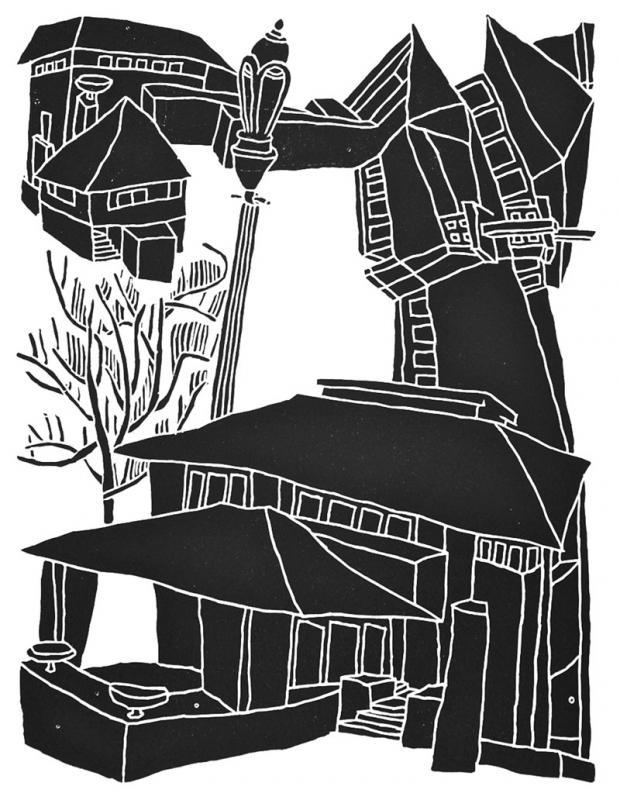 Darwin Martin House by Daniel Galas.