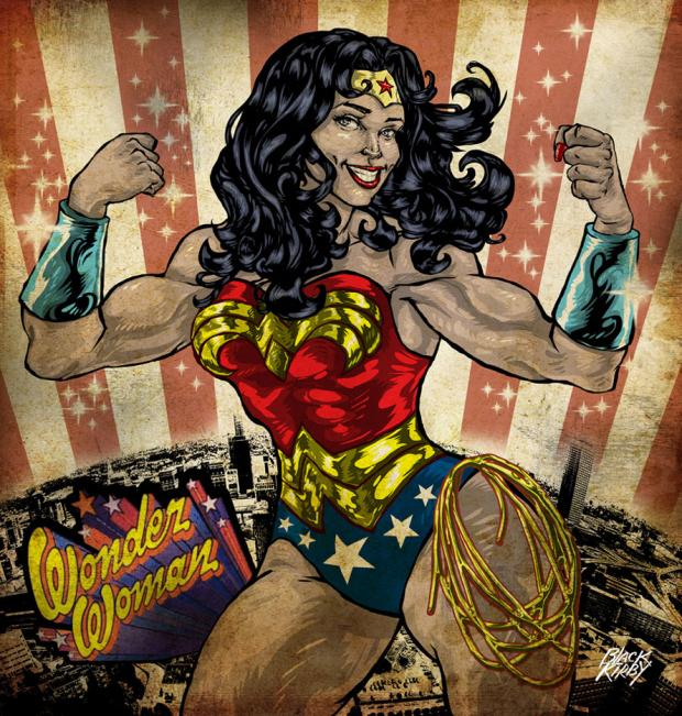 Wonder Woman by Stacey Robinson