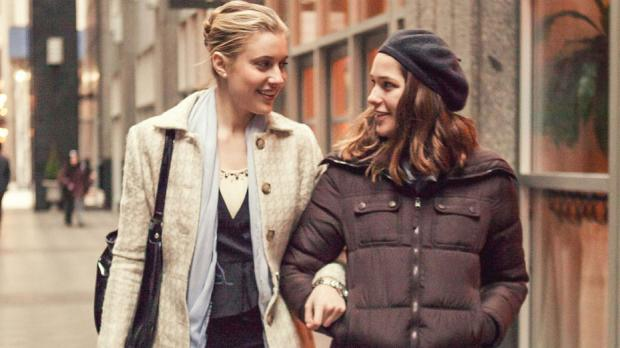 Greta Gerwig and Lola Kirke in Mistress America.