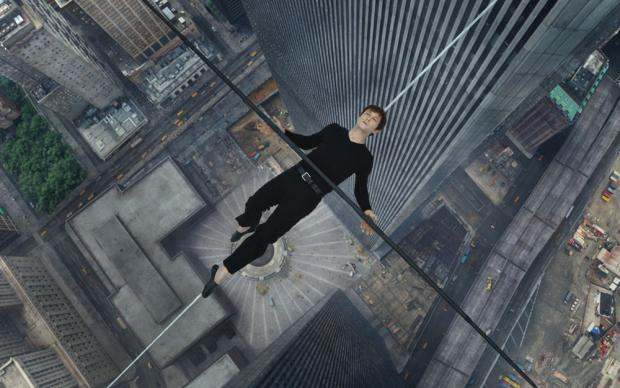 Joseph Gordon Levitt in The Walk.