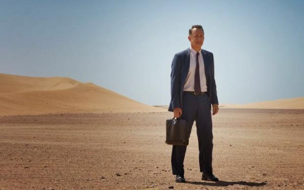Tom Hanks in A Hologram for the King.