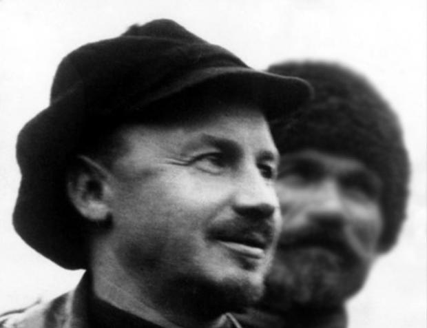 Russian author Nikolai Bukharin.