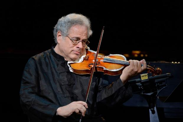Itzhak Perlman joins the BPO on February 25, 2017, for the first time in nine years.
