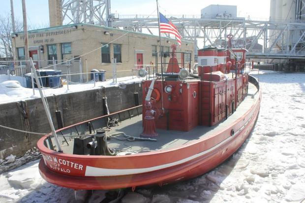 The historic Buffalo Fireboat Edward M. Cotter Photo by jburney