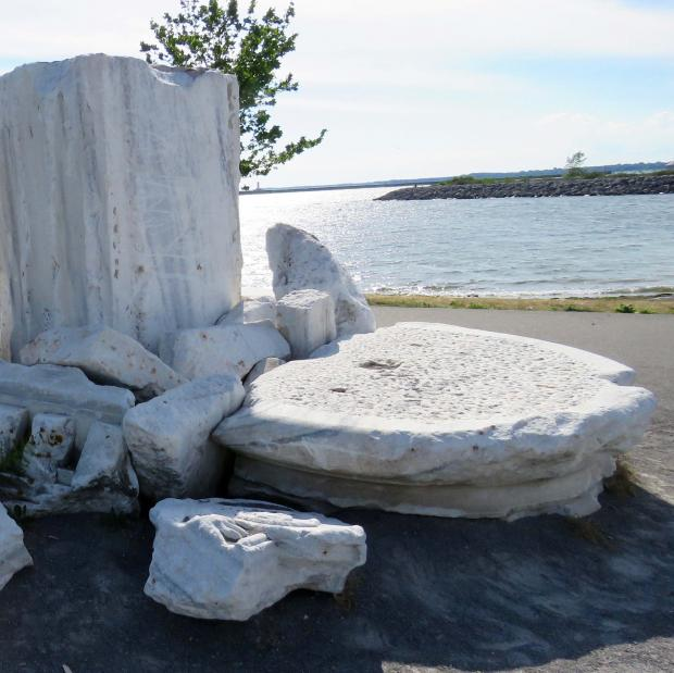 Artifacts of Civilization on Buffalo's Outer Harbor