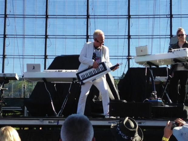 Howard Jones at Artpark, June 14, 2016.