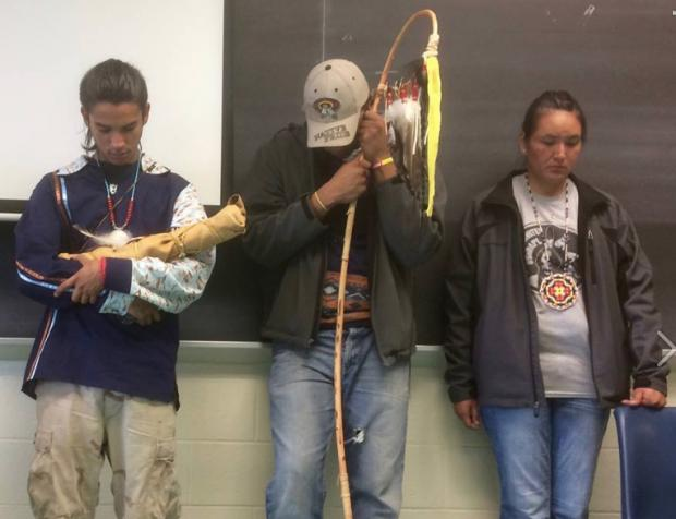 Youth from Standing Rock Visit Buffalo to tell the story that the media refuses to cover