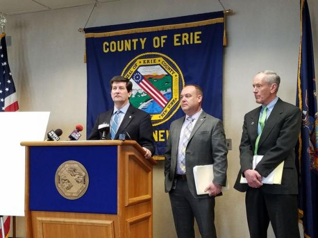 In April, Erie County Executive Mark Poloncarz outlined his agenda for county road and highway maintenance.