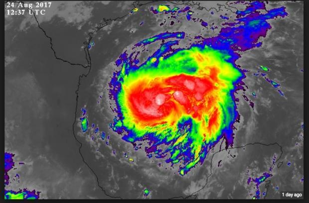 Hurricane Harvey August 25, 2017