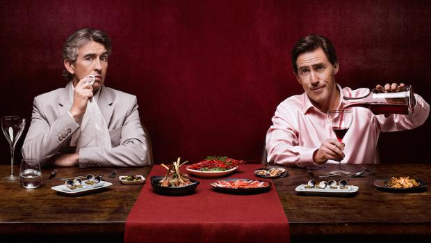 Steve Coogan and Rob Brydon take another trip: new locale, same basic gags.