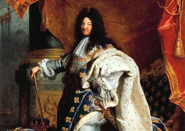 Louis XIV reigned from 1643 until 1715.