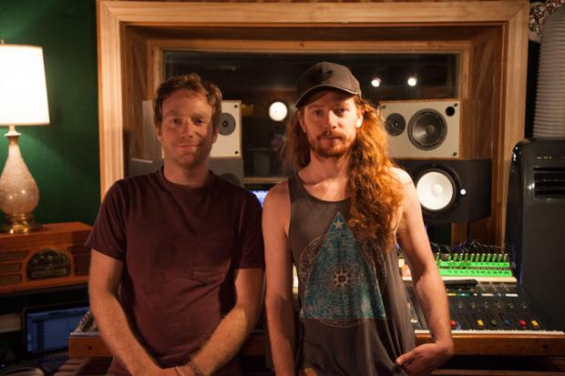 (L-R) Mammoth Recording Studio owners Mike Santillo and Justin John Smith