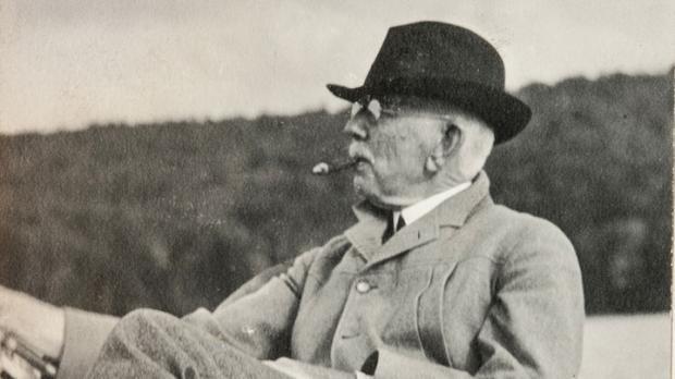 John J. Albright in the Adirondacks.