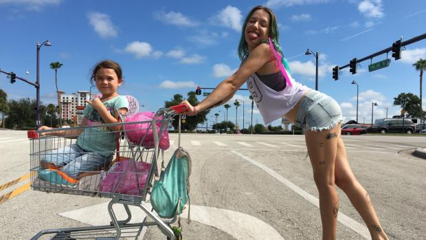 The Florida Project explores the hidden homeless living around Disney World.